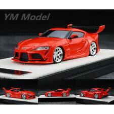 YM Model 1:64 Scale Toyota Supra Rocket Bunny Red Car Model Collection