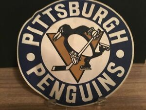 Jumbo 1970 s Pittsburgh Penguins 8inch crest patch