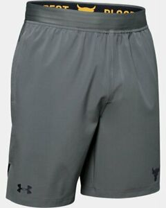Men's Under Armour Project Rock Training Athletic Shorts Size Large #1346070