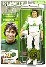 "MEGO LEGENDS 8"" ACTION FIGURE OF JOE NAMATH-JETS (Helmet-Super bowl 3 ball & pad"