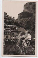 Cpa carte postale 38 Isère Pont en Royans les maisons suspendues