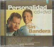 CD / DVD Sin Bandera CD Personalidad 19 Tracks & 17 Videos BRAND NEW