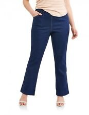 Women's Plus-Size 4-Pocket Stretch Bootcut Jeans, Available in Regular and E1