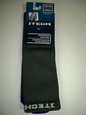 Bauer ITech Performance Adult Skate Socks Polypropylene Blend Gray One Size NWT