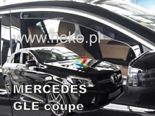 SET 2 DEFLETTORI ARIA MERCEDES GLE COUPE C292 2015 IN POI - ANTITURBO ABS