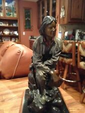 Rare Western Bronze Sculpture/Jedediah Smith/Historical Figure-A Work Of Art