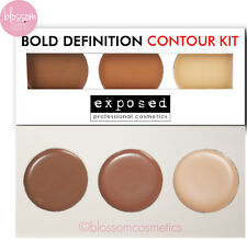 Exposed Ultimate BOLD DEFINITION CONTOUR KIT PALETTE Bronzer Highlighter