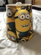 Kids Minions /Despicable Me Multi-Character Tapered Ceiling Light Shade - 9 Inch