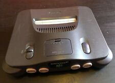 N64 Nintendo 64 Console Unit Only Black PAL Tested
