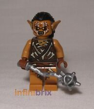 Lego Gundabad Orc with Hair from Set 79011 Dol Gulder Ambush Hobbit NEW lor076