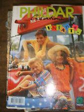 Phildar Créations Enfants N°245 Printemps Eté 1994 Tricot Laine Modèle Couture