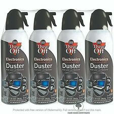 Compressed Duster Air Spray Cleaner Can Computer Keyboard Mouse Blind 4 Pack