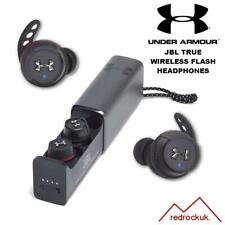JBL Under Armour True Flash TWS In Ear Wireless SportHeadphones - Black