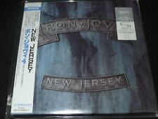 New Jersey by Bon Jovi JAPAN LTD MINI LP SHM-CD SEALED+2