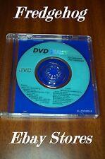 JVC CL-DVD8BLK - MINI DVD disco de limpieza de lente/láser - 8CM para videocámaras-r/- RW