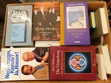 44 Bücher Hardcover Romane Sachbücher verschiedene Themen Paket 1