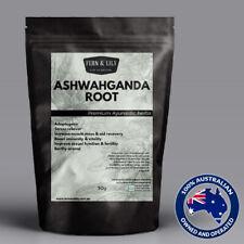 OrganicAshwagandha Root Withania Somnifera ADAPTOGEN ayurvedic herbal tea