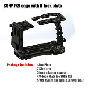 Hontoo FX9 cage rig VCT baseplate V-Lock power plate for SONY PXW-FX9 camera 6K