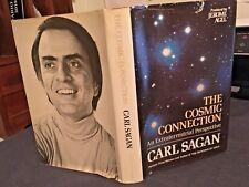 Sagan, Carl THE COSMIC CONNECTION Book Club Edition10th Printing HC DJ