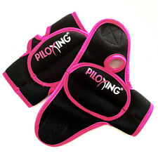 PILOXING Women Pink & Black Weighted Gloves 1/2 Lb Each - Workout/Fitness/Boxing