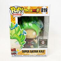 Funko Pop DragonBall Super SUPER SAIYAN KALE #819 Chalice Exclusive Collectible
