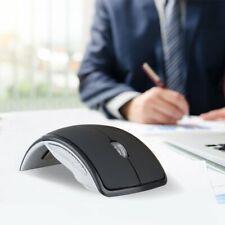 2.4GHz Foldable Ergonomic Mouse Wireless Work Mice 1600DPI For PC Laptop Desktop