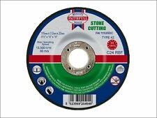 Faithfull - Cut Off Disc for Stone Depressed Centre 115 x 3.2 x 22mm