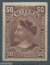 CHILE 1900 Colon Columbus 50 cts. brown Sc.45 MH