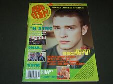 2001 OCTOBER POP STAR! MAGAZINE - JUSTIN TIMBERLAKE COVER - POSTER - O 6427