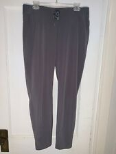 ATHLETA Midtown Ankle Pant Grey Sz 12T Lightweight