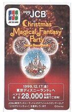 Japan - Tamura Phonecard - 110-206641 JCB Cards Tokyo Disneyland - Used/Usagée