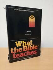 What the bible teaches John. Ritchie new testament Commentaries