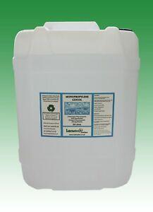 MonoPropylene Glycol (PG) USP/EP GRADE 99.9% pure (minimum) -20 litres Jerrycan