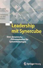 Leadership mit Synercube - Anatoly Zankovsky Management Wirtschaft Business