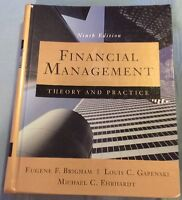 Financial Management : Theory and Practice by Eugene F. Brigham (1998,HC)