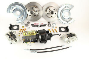 1964 - 65 - 66 Ford Mustang Power Disc Brake Kit, AutomaticTransmission Only