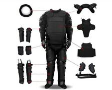 Full Tactical Police Body Protective Anti Riot Armor Suit Emergency Survival
