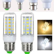 E14/E27/B22 Bombilla LED Maíz Luz 5730 SMD Spotlight Lámpara Ahorro De Energía 5-20W 220V