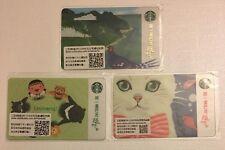 Starbucks Taiwan City Uninang Paul And Joe Card Set Limited Edition