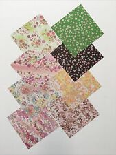 """200 Sheets Origami Paper One Sided Craft 15cm 5.9"""" Floral Flower Japanese Print"""