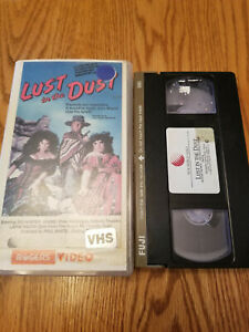 LUST IN THE DUST (VHS, 1985, Original New World release) OOP, HTF