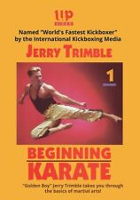 "Jerry ""Golden Boy"" Trimble Beginning Karate Dvd World's Fastest Kickboxer"