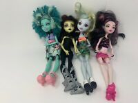 Mattel Monster High Doll Lot Of 5 OOAK! Complete With Shoes And Cloths
