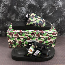 A Bathing APE Bape Camo Sandals Beach Casual Slippers Flip Flops Shoes Unisex