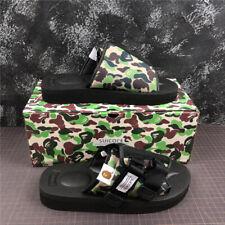 A Bathing APE Bape Camo Shoes Sandals Beach Casual Slippers Flip Flops  Unisex