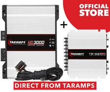 Taramps Hd 3000 2 Ohm Amplifier 3000 Watts Rms 1 Channel + Ts 400X4 2 Ohms