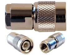 FME MALE TO TNC MALE connector adapter RF FME/M to TNC/M adaptor