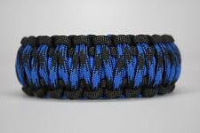 550 Paracord Survival Bracelet King Cobra Black/Blue/Bruiser Camping Tactical