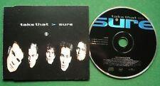 Take That Sure 4 Mixes CD Single