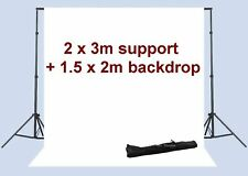 Photo Studio Background Backdrop Support System 7x10 ft